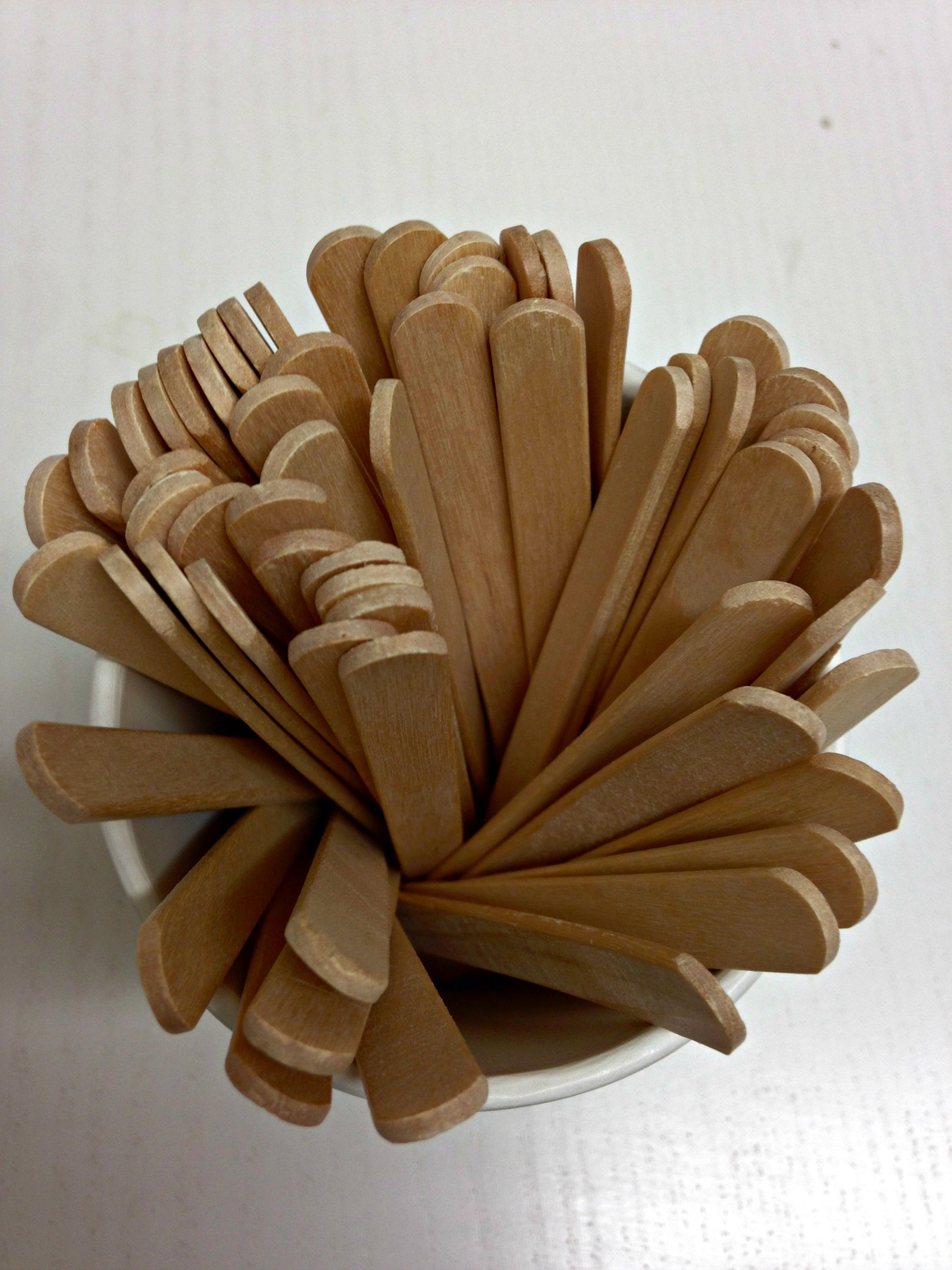 Wooden Stirrers, 1000 per pack