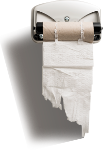toilet roll for commercial bathroom supplier perth