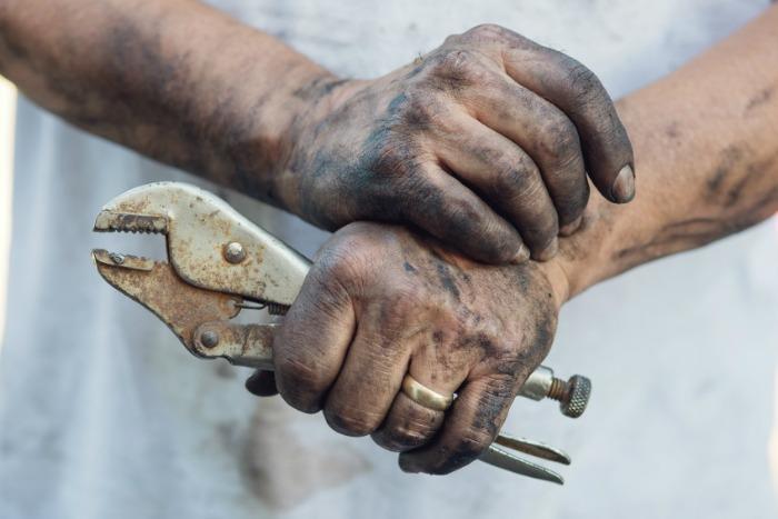 Workshop hand cleaner