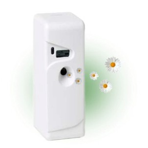 Automatic pyrethrum dispensers